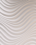 Gipsowe panele dekoracyjne Curled DUNES