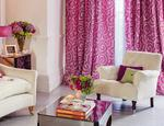 Fotele tapicerowane w tkaninie i skórze LAURA ASHLEY - zdjęcie 2