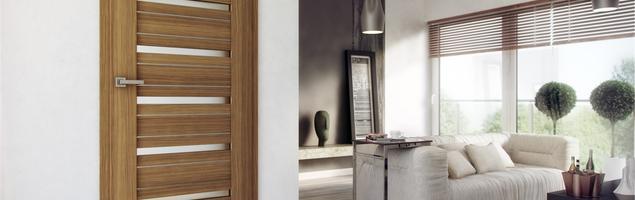 Drzwi wewnętrzne ARCO Alu. Naturalny charakter z minimalistycznym akcentem