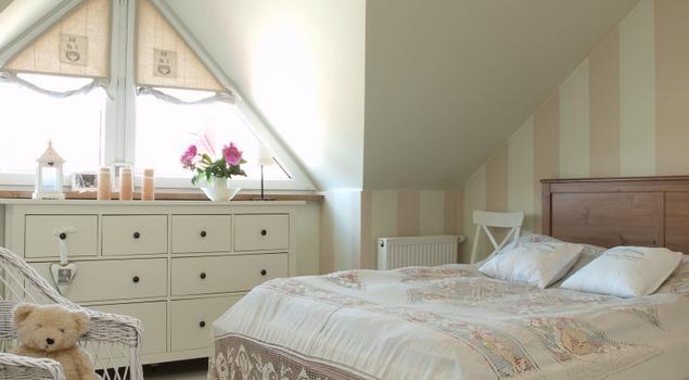 Biała Sypialnia Romantyczne Wnętrze Strona 1