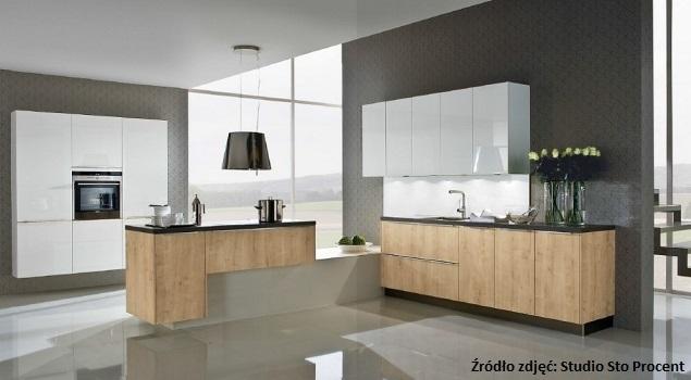 Białe meble kuchenne, nowoczesne aranżacje kuchni -> Nowoczesne Kuchnie Wloskie Aranżacje