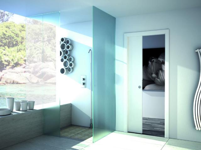 Rozwiązania Do Małej łazienki Drzwi Przesuwne Stronywnetrza