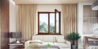 Ekologiczne okna drewniane. Aranżacje wnętrz w stylu eko