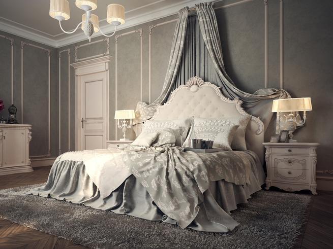 Królewskie projekty sypialni - wystrój wnętrz z charakterem