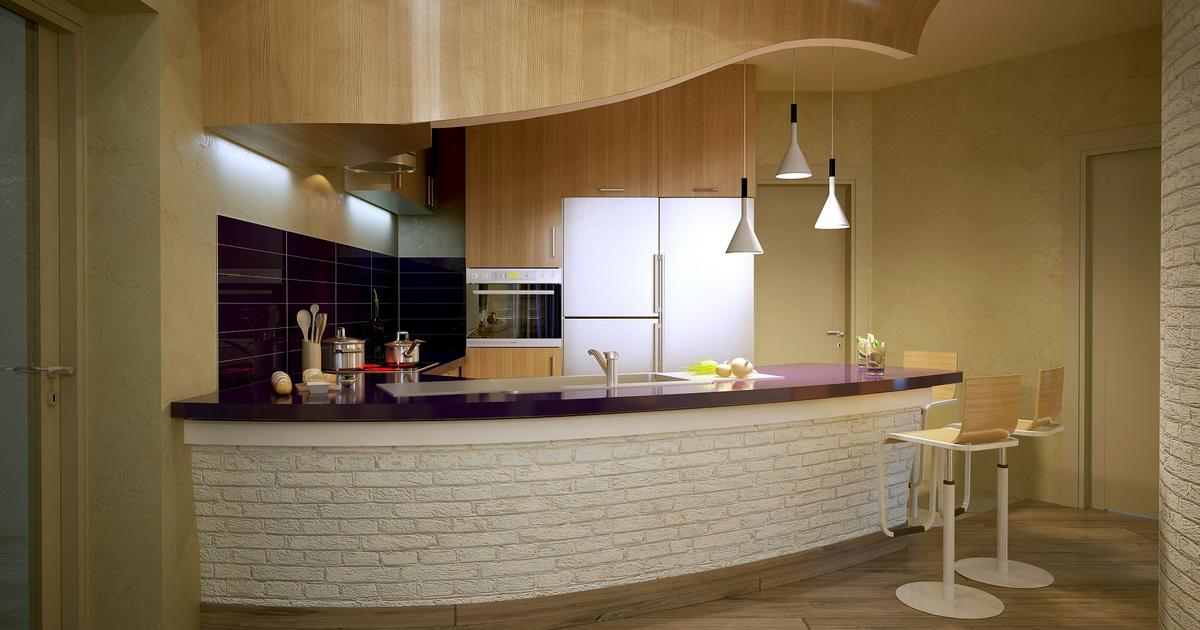 Kuchnia Z Barkiem Oryginalny Projekt Kuchni Z Salonem