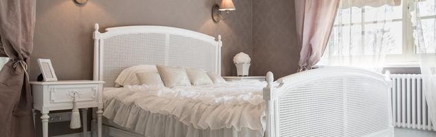 Romantyczna sypialnia - pomysł na wnętrze