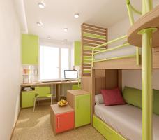 Jak urządzić mały pokój dla dwójki dzieci? Wyposażenie pokoju dziecięcego