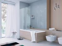 Łazienka z oknem - dobry pomysł na aranżację małej łazienki