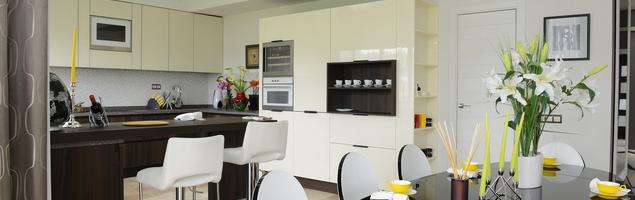 Kuchnia na wysoki połysk – styl klasyczny