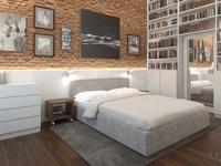 Sypialnia w domu w Józefosławiu