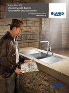Nowości 2015 BLANCO zlewozmywaki, baterie, sortowniki