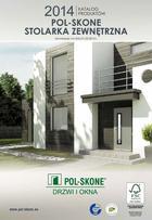 Katalog Stolarka Zewnętrzna POL-SKONE 2014